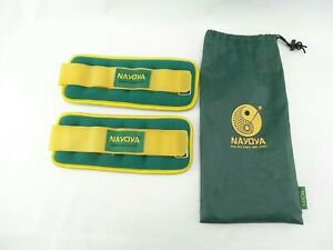 Nayoya Adjustable Wrist Weights Set with Carry Pouch 1.5lbs each
