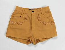 Rock soda shorts donna vintage w29 42 43 orange hot mom jeans corto usati T1728