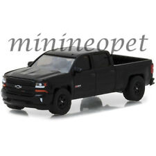 GREENLIGHT 29941 2018 CHEVROLET SILVERADO 1500 PICK UP TRUCK 1/64 DIECAST BLACK