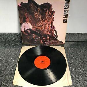 RARE LP VINYL  ALBUM MOBY GRAPE '69 UK 1ST PRESS MONO 1969 CBS 6343 SUPER EX/EX