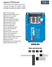 IMO CUB 1HP 230V 3 PHASE DIGITAL INVERTER CONVERTER for MYFORD LATHE MILL DRILL