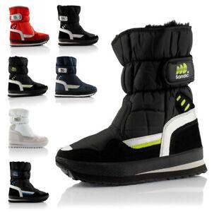 Neu Damen Herren Schneestiefel Winter Boots Warm Gefüttert 2080 Schuhe Gr. 36-46