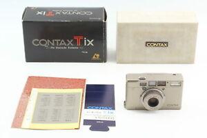 [Near MINT in BOX] Contax Tix Point&Shoot APS 35mm Film Camera  JAPAN b23