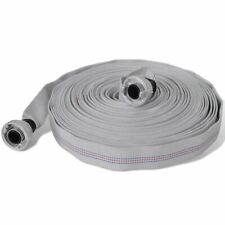 Fire Flat Hose 20 m with D-Storz Couplings 1 Inch vidaXL