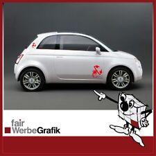 Aufkleber Fiat - 500 - Abarth - Punto - Sticker Skorpion #0066