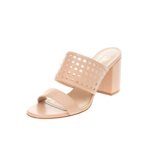 RRP €305 MAGLI By BRUNO MAGLI Leather Mule Sandals Size 36.5 UK 3.5 US 6.5 Heel