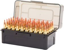.223 .204 Ammo Case Ammunition Box 50 Rifle Gun Rounds Carry Storage Pack of 5