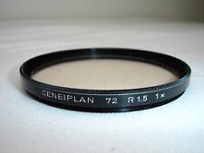 CENEIPLAN 72mm  R 1.5 1x  Skylight   Filter,  Germany