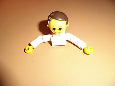 Lego Figur 70er Torso Kopf Arme Arzt weiß aus 231 Hospital fa24