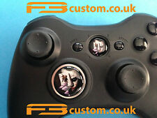 Custom XBOX 360 *joker* Logo Guide button and D-Pad * F3custom