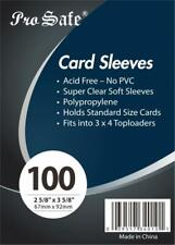 1,000 / 1000 Brand New Pro Safe Trading Card Soft PENNY SLEEVES - Free Shipping!