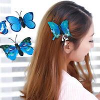 5 Pcs Butterfly Flower Hair Claw Clamp Hair Clips Wedding Party Bridal Hair Pins