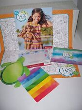American Girl LEA Store Exclusive SARONG Turtle weaving craft Picture Frame +