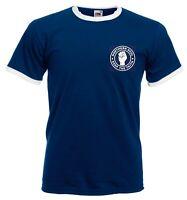 Northern Soul Keep The Faith T Shirt - Slim fitting Mod Ringer Tee