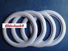 "ATLAS Brand 13"" White Wall Portawall Tire insert Trim set 4 pcs"