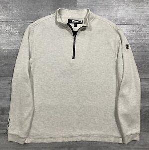 Sun Mountain Wind-Wear 1/4 Zip Lined Insulated Sweater Jacket Men XL MINT COND🔥