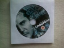 UNKNOWN*DVD*LIAM NEESON*ACTION*THRILLER FILM*RATED 15**DISC ONLY**