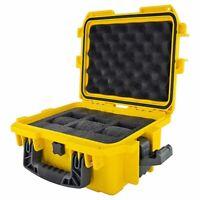 Invicta 3 Slots Yellow Dive Watch Case  Waterproof Plastic Box