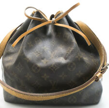 Louis Vuitton petit noe bandolera shoulder Bag bolsa pátina pm 1