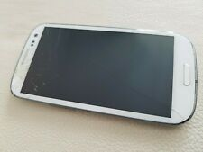Samsung Galaxy S3 GT-I9300 - 16GB - Marble White - Smartphone DEFEKT (DSP 4496)