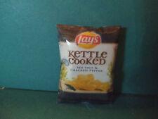 Barbie 1:6 Kitchen Food Miniature Bag Kettle Cooked Sea Salt Cracked Pepper Chip