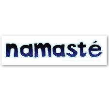 CS250 -MAG Namaste Ancient Sanskrit Greeting Nepal Color Sticker MAGNET