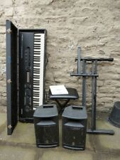 More details for alesis quadraverb synth + yamaha stagepas 300 - x stand and seat