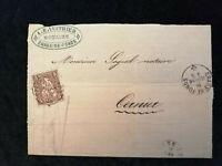 Schweiz - Brief Stück Stempel 1866 Chaux-de-Fonds Sitzende Helvetia 5 C   Nr.12
