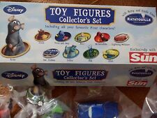 DISNEY TOY FIGURES COLLECTOR SET RARE BOXED ALL ITEMS STILL SEALED 10 TOYS IN TO