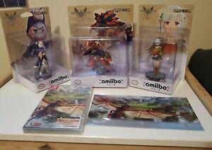 Nintendo Switch Monster Hunter Stories 2 Amiibo Mask Case Japanese - US Seller