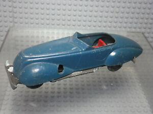 Solido Démontable Junior coupé sport - bleu - Miniature ancienne