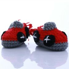 Lovely Knitted crochet Baby Shoes Wool photography Handmade Shoe