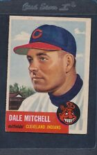 1953 Topps #026 Dale Mitchell Indians Fair *2078