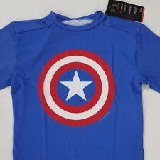 Under Armour Alter Ego Captain America T Shirt Compression Super Blue Nwt Sz Xl