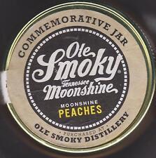 COLLECTIBLE EMPTY OLE SMOKY MOUNTAIN MOONSHINE PEACHES MASON JAR XXX SPECIAL ED