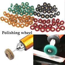 80x roue de polissage Durable Mop polonais patin brosse pour foret rotatif