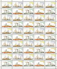 Canada MNH 1978 Full Sheet of 50 sc# 776-779 Ice Vessels