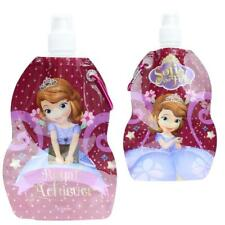 Foldable Water Drink Bottle with Carabiner Clip - Disney Sofia the First