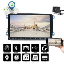 "9"" Car Stereo MP5 Player GPS Navi 2 DIN + Camera For VW Golf 5 V 6 Touran Passat"