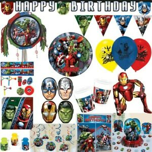 Avengers Kindergeburtstag Hulk Iron Man Party Geburtstag Captain America Thor