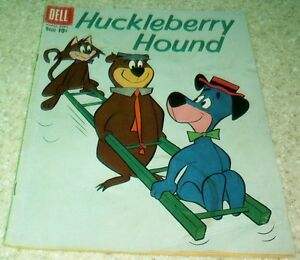 Hanna-Barbera Huckleberry Hound 4, FN- (5.5) 1960, 50% off Guide!