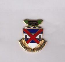US ARMY 13th INFANTRY REGIMENT crest DUI badge CB Clutchback G-23