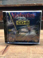 Verbatim CD-R 74 Minutes 650 Mb Lot Of 5