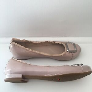 Rockport Walkability Leather Flat Womens Adiprene Shoes Size 8.5/39 by Adidas