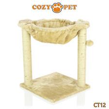 Cozy Pet Deluxe árbol del Gato que Rasguña el Poste Sisal Calidad árboles Cat-CT12-Beige