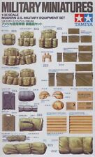 Tamiya 1/35 US Modern Infantry Equipment # 35266