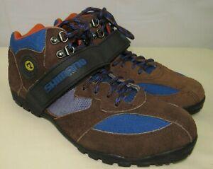 Shimano Mountain Cycling High Top Shoes Brown Size EUR 42 SH-M055