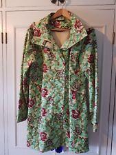 Rare Sos jensen raincoat,floral Rose pattern