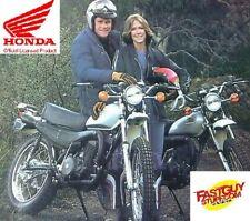 LICENSED HONDA VINTAGE 1974 1975 1976 MT250 Tank Wing Decal Stickers Vinduro(Fits: Honda MT250)