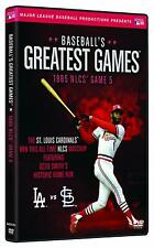 Baseballs Greatest Games 1985 NLCS Game 5 DVD St Louis Cardinals NEW